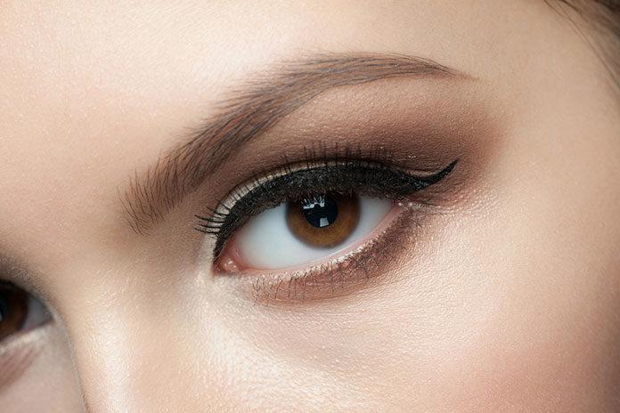 Makijaż z akcentem na oczy