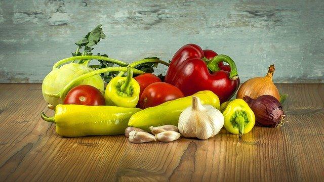 Warzywa są bogate w witaminy i minerały